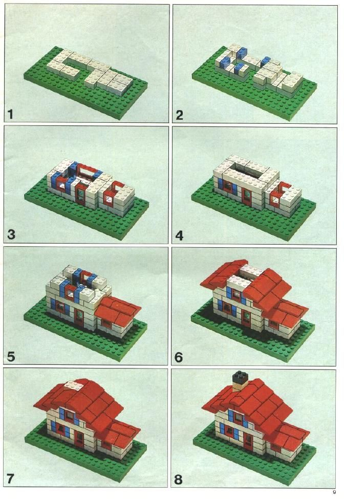How to build a lego house step by step architectural designs for Building a house step by step