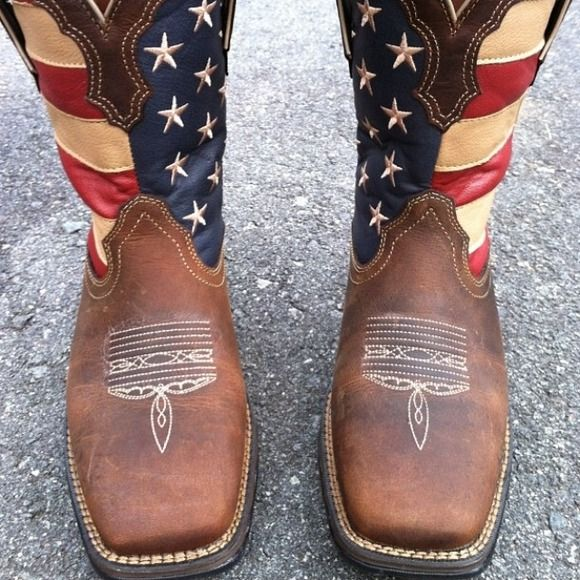 Durango cowgirl boots Size 8 Durango American flag boots durango Shoes