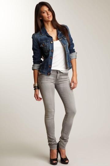 Skinny Mens jeans black pictures