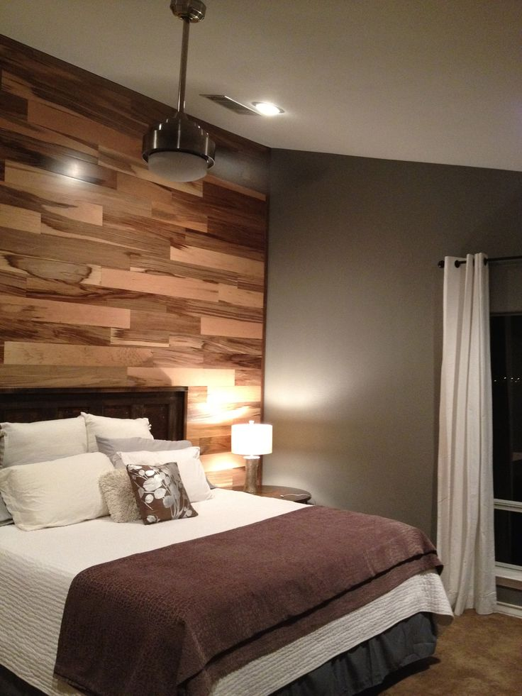 Love The Floor On The Wall! Laminate Flooring On WallsFlooring IdeasWood  WallsSalon IdeasBedroom ...