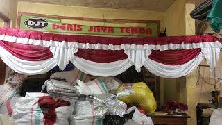 Jual,sarung kursi,sarung kursi futura,tenda,cover meja,plafon,dekorasi tenda,pesta,terval,dll: RUMBAY TENDA/ROMBE TENDA/RUMBAI TENDA