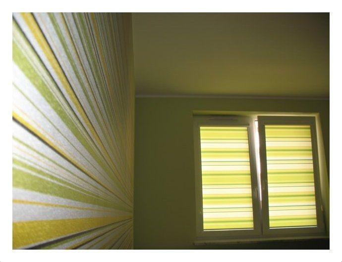 Szukając idealnych rolet czy plis materiałowych, które będą pasować kolorystycznie do ścian w kolorze zielonym, zwróć szczególną uwagę na odcienie zieleni – zarówno pastelowe, jak i ciemniejsze, a także na coś zupełnie kontrastowego – na przykład fiolet. Zieleń świetnie łączy się również z białymi roletami, jasnym beżem, a także odcieniami ecru czy kremowym. Z zielonymi ścianami dobrze komponować się będą również żaluzje bambusowe, które są uniwersalne i pasują do każdego koloru ścian.