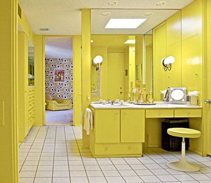 Delicieux Yellow Bathroom
