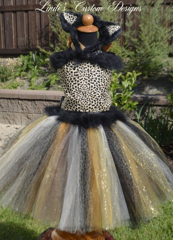 88 of the Best DIY No-Sew Tutu Costumes - DIY for Life Leopard  Cheetah