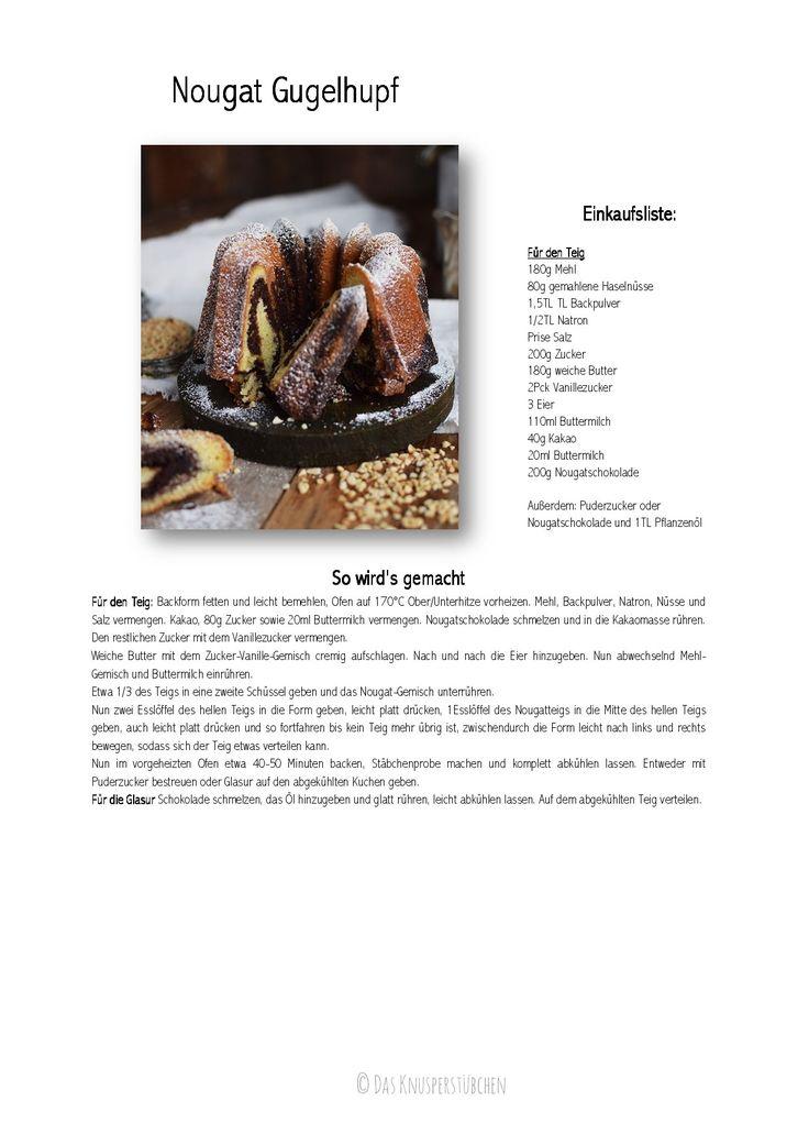 Nutella kuchen mit 3 eiern