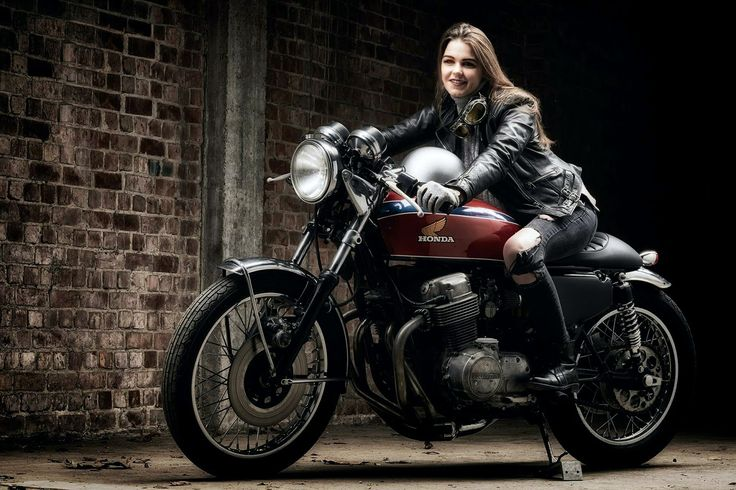 312 Best Images About Cafe Racer Girls On Pinterest