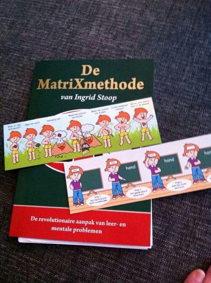 Meer weten over de MatriXmethode? Voor grote mensen het boek:'de MatriXmethode van Ingrid Stoop' Voor kleine kinderen de prentenboekjes: 'in 7 MatriXstapjes een sprong vooruit'
