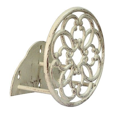 Innova Hearth and Home Catalina Metal Hose Hanger Finish: Antique White