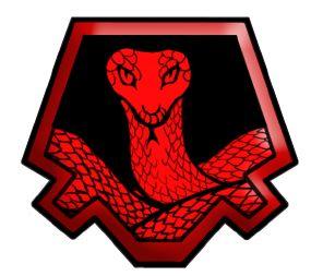 Sello Serpiente roja. nº5