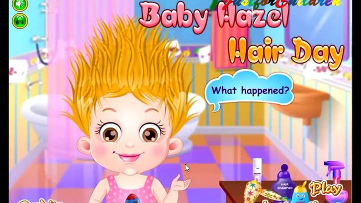 Baby Hazel Games | HAIR DAY| Baby Games | Free Games | Games for Girls |...