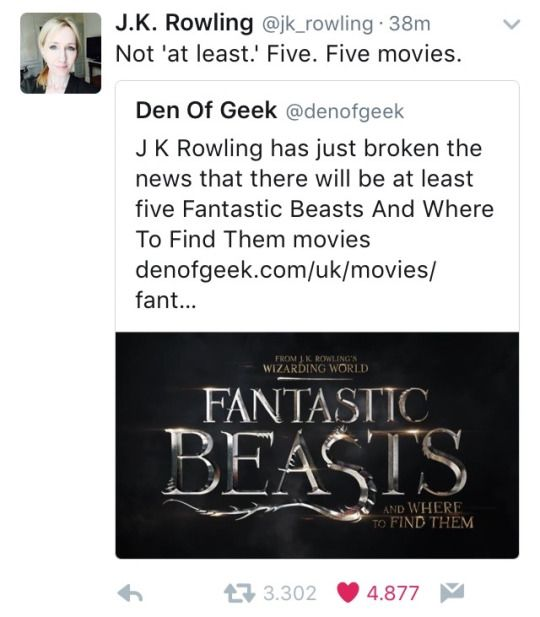 Harry Potter - Fantastic Beasts and Where to Find Them - 5 MOVIES!!!