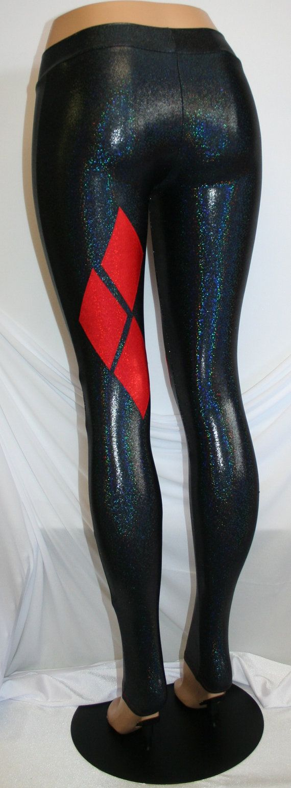 "Harley Quinn ""Inspired"" Leggings                                                                                                   Cosplay"
