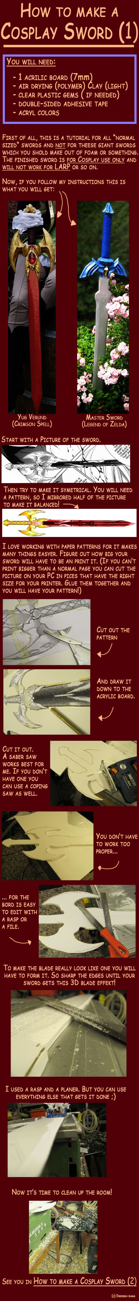 How to make a Cosplay Sword 1 by ~Eressea-sama on deviantART