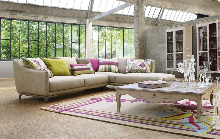 Ylang Modular L-Shaped Sofa - Roche Bobois