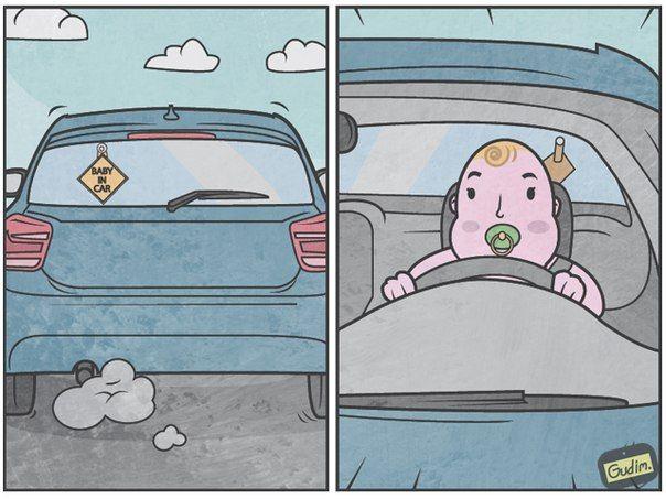 Les Illustrations sarcastiques de Anton Gudim (10)
