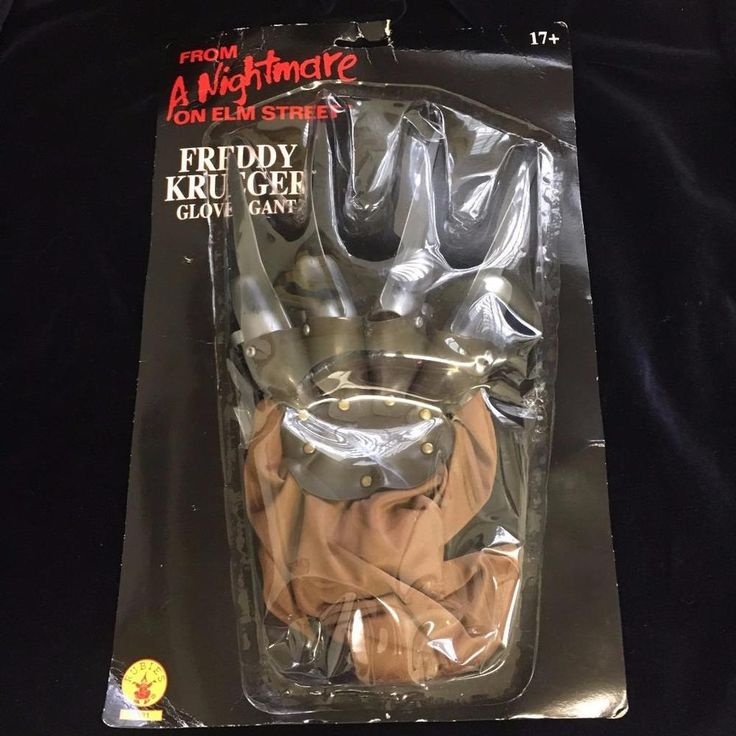 Rubies Freddy Krueger Razor Glove Hand Nightmare on Elm Street New in Pkg #Rubies