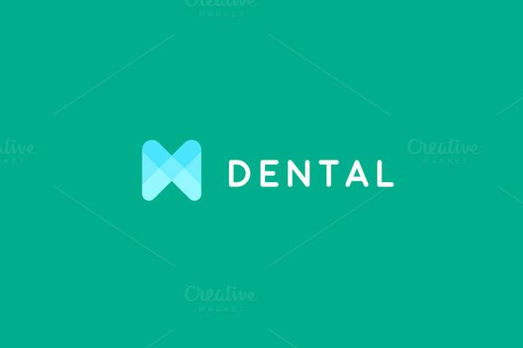 "Tooth dental clinic logotype by Bureau on @creativemarket _ this could work as the ""H"" in hedgecock"