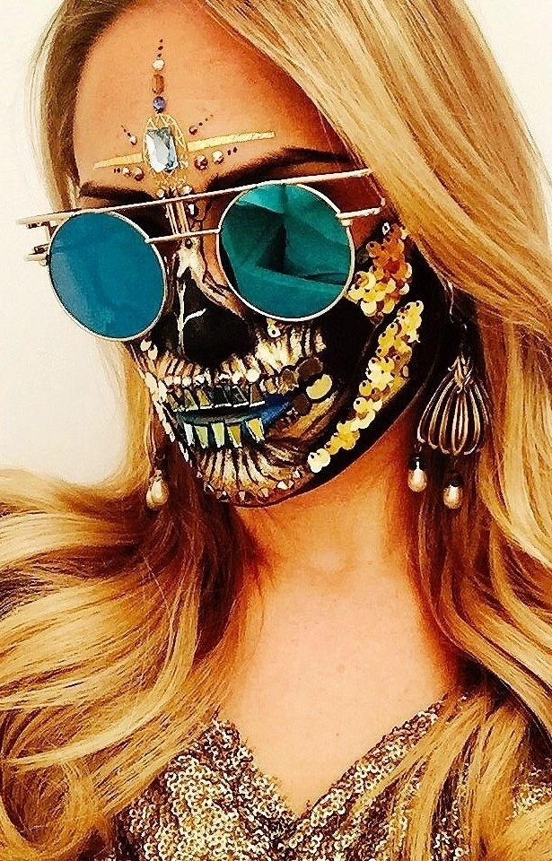 The 50 most amazing Halloween makeup costume ideas: from studded skull to a deer...