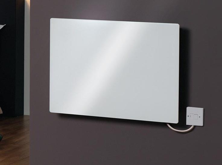 Popular Schlichte Design Wandkonvektoren aus Metall und Glas