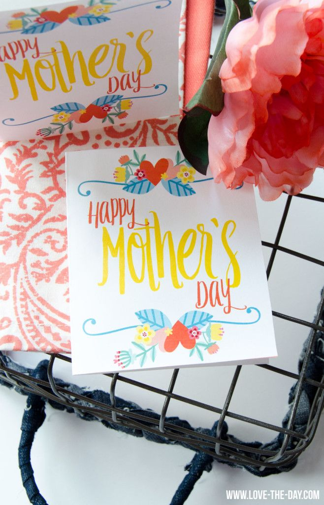 FREE PRINTABLE Mother's Day Card by