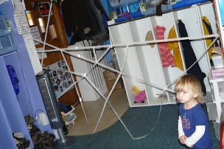 A Sticky Web... And Yes, Gravity Works! | Child Central Station