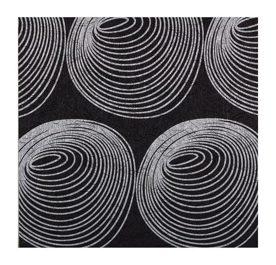 York Wallcoverings 670307 Monogram Wallpaper, Black background/Silver *** Want additional info? Click on the image.