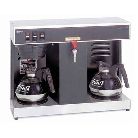 FOR SALE Bunn VLPF Professional Automatic Coffee Brewer with 2 Warmers Drip Coffee Maker ...