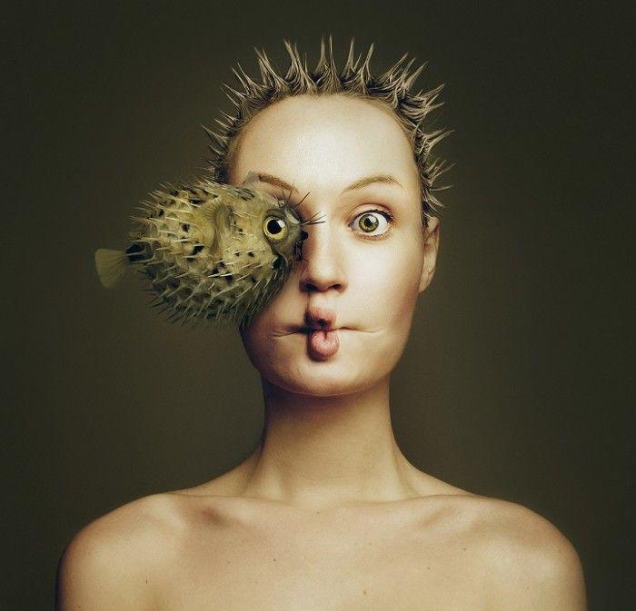 autoritratti-donna-occhio-animali-ibridi-flora-borsi-4