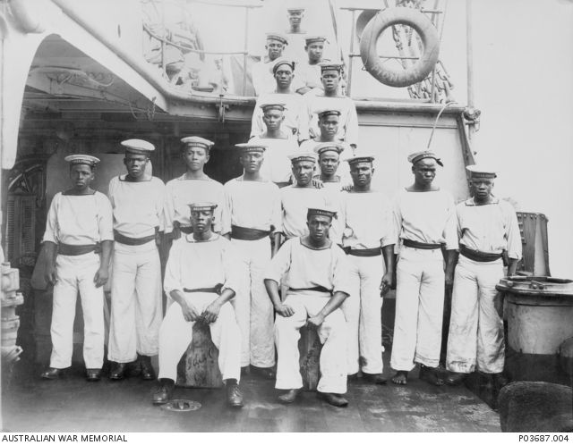 Black Sailors – Indigenous service in the navy during WWI? we need to find out more about these brave men.