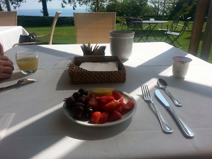 #Colazione con Vista! #HotelEmilia #Portonovo