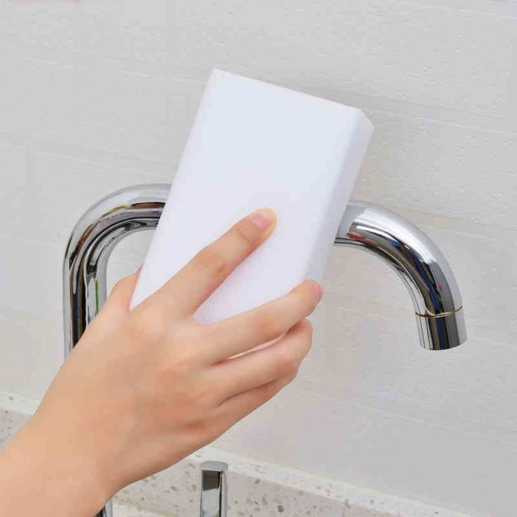 30 pcs/lot Multifunctional White Magic Sponge Eraser Melamine Cleaner Kitchen Bathroom Cleaning Tools 10x6x2cm Nano Sponge DA
