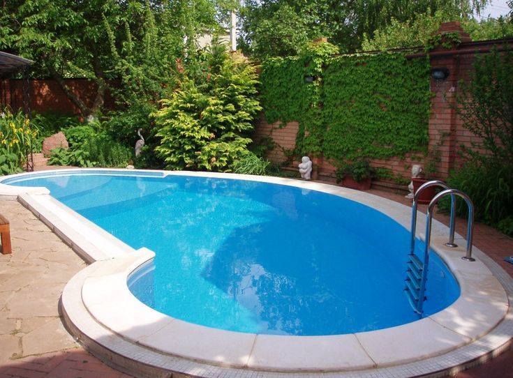 29 best yard and garden images on pinterest backyard for Types of inground pools