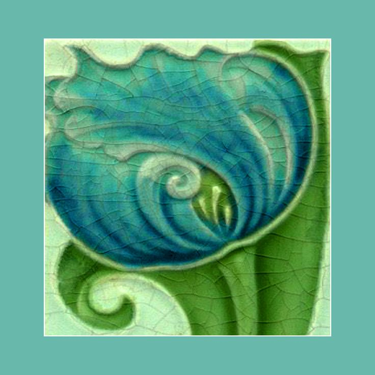114 Art Nouveau Tile By Cleveland Courtesy Of Robert Smith From His Book Tiles With Style As An E Card A Personalised Greeting