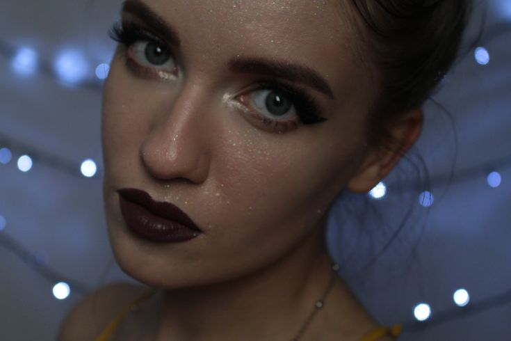 full face glitter