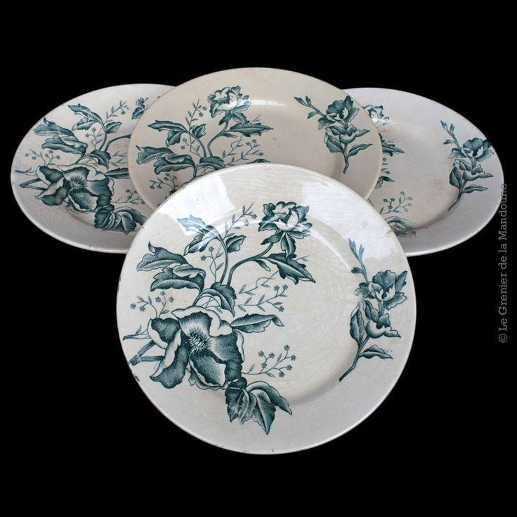 Favori 154 best GIEN et autres vaisselles anciennes images on Pinterest  AJ76