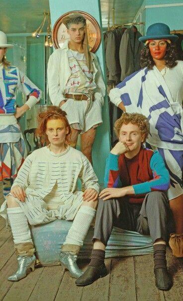 Vivienne Westwood and Malcolm McLaren.