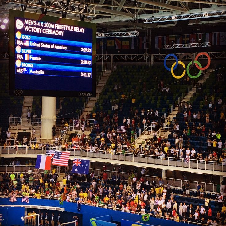 U.S. Olympic Team TeamUSA Aug 7 Estádio Aquático