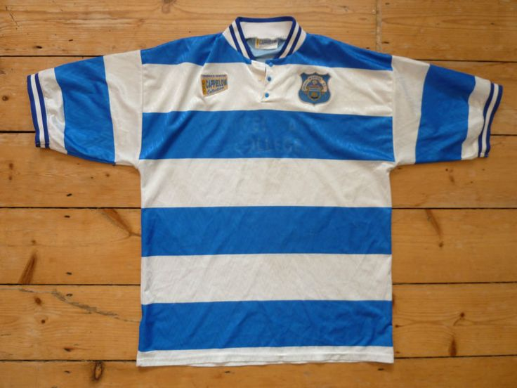 Greenock Morton FC Shirt XL 1995/6 Retro Football Jersey Morton Soccer Jersey