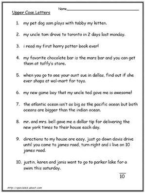 The 25+ best Capital letters worksheet ideas on Pinterest   Letter ...
