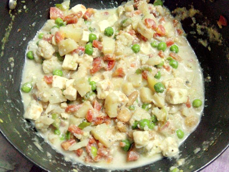 Navratna Korma - A Semi Sweet Mughlai recipe by Taste INDIA