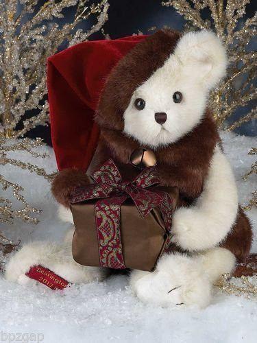 Bearington Bears 2013 Holiday Musical Limited Edition Bear - Retired