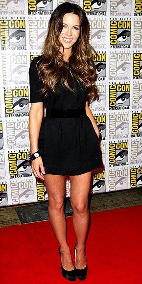 Kate Beckinsale in Tibi Spring 2011 at Comic Con 2011, July 2011