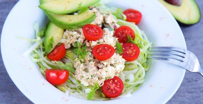 Proteinrig tunsalat