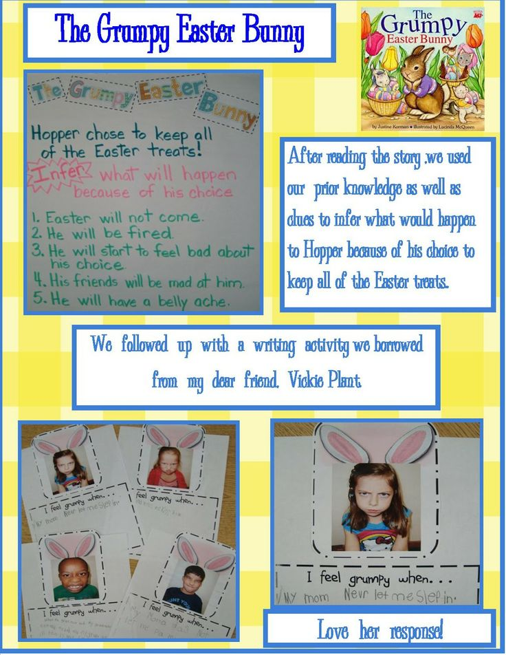 My easter holiday writing activity