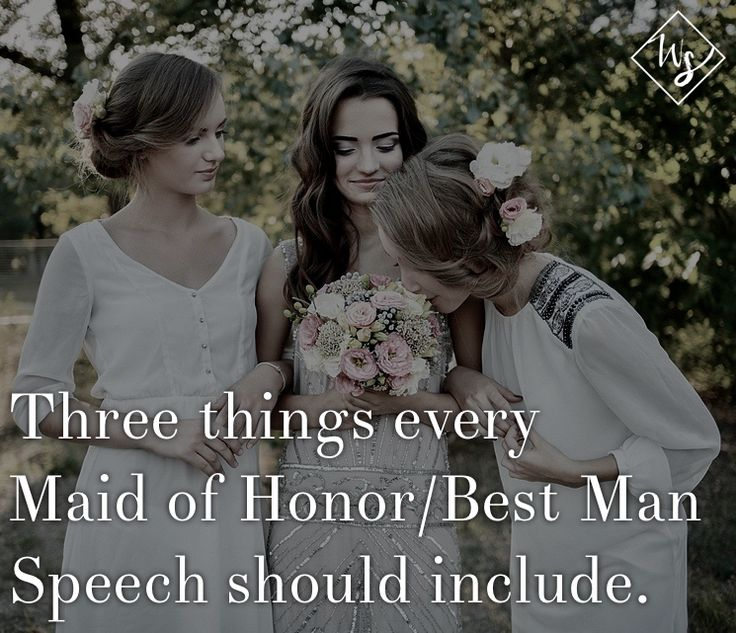 25+ Best Ideas About Bridesmaid Speeches On Pinterest