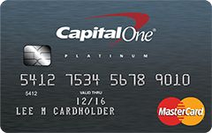 Capital One Secured MasterCard one of the best credit cards for bad credit have no annual fee, and all the credit building benefits with responsible card use. Unlike a prepaid card, it builds credit when used responsibly, with regular reporting to the 3 major credit bureaus. Get access to a higher credit line after making your first 5 monthly payments on time with no additional deposit needed. It's a credit card accepted at millions of locations worldwide.