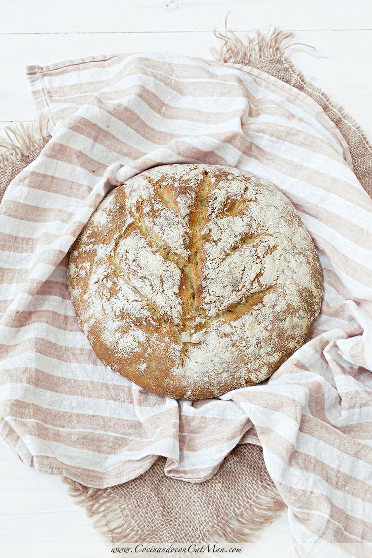 Receta de pan con masa madre de yogur