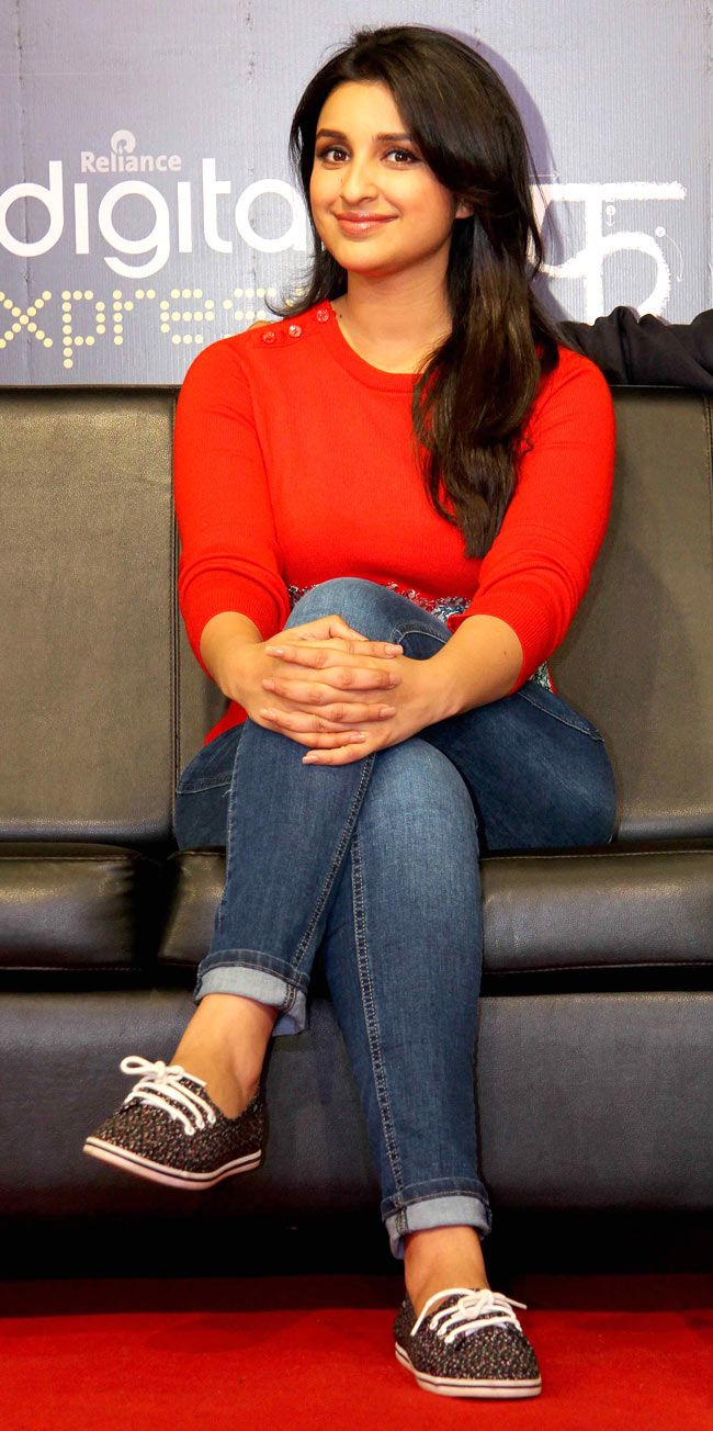 Parineeti Chopra looked quite chic in her casual outfit at the unveiling of the…