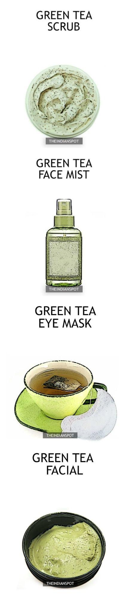 Amazing Beauty DIYs using Green Tea - THEINDIANSPOT - Page 5