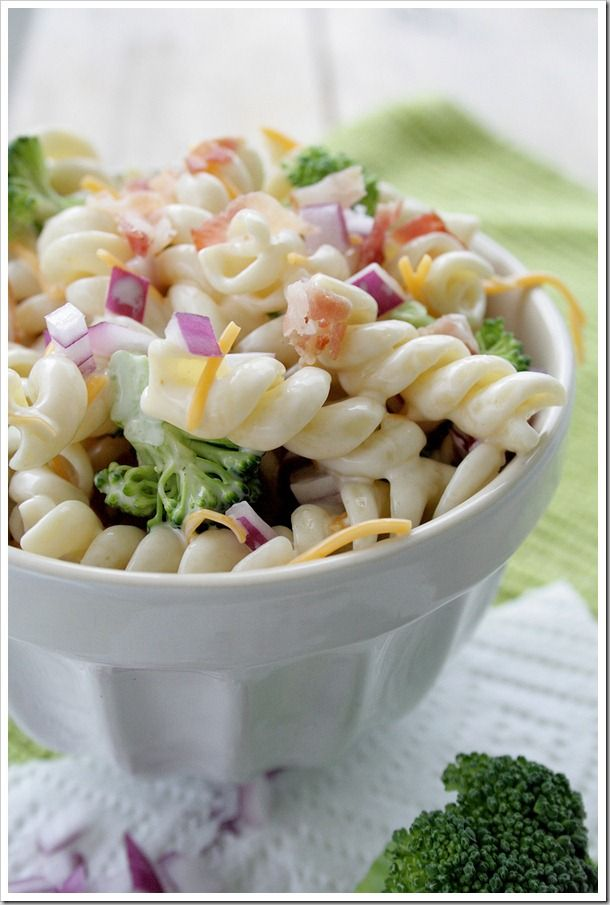 Amazing pasta salad - you have to try this one!